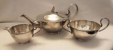 Lovely Shape, Stunning Antique Silver Plated Tea Set By John Sherwood & Sons