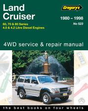 Toyota Land Cruiser  Repair Manual 1980-98 HJ60, HJ61, HJ70, HJ75, HZJ80, HDJ80