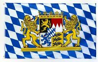 Bayern Flagge /Bavaria Flag / Bayern Fahne mit Ösen (90 x 150 cm)
