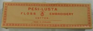 Peri Lusta embroidery floss 53 skeins 101 Dark Fawn color size14 VTG unused