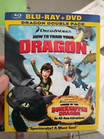 How to Train Your Dragon Blu-ray + DVD 2-Disc Set w Slipcover Excellent shape