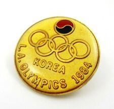 Los Angeles 1984 Olympics KOREA NOC Olympic Team Pin Badge