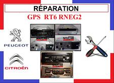 AUTORADIO GPS RT6 PEUGEOT CITROEN  service de Réparation 5008 3008 308 C4 C5
