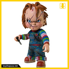 Childs Play Bride of Chucky Chucky Vinyl Figure Mezco Toys