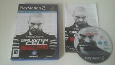 TOM CLANCY'S SPLINTER CELL DOUBLE AGENT - SONY PLAYSTATION 2 - JEU PS2 COMPLET