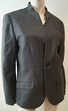 AX ARMANI EXCHANGE Men's Charcoal Grey Cotton Fitted Formal Blazer Jacket M BNWT