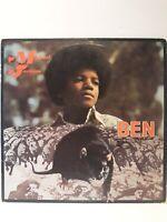 MICHAEL JACKSON BEN Vinyl Lp Record Cover Motown M755L 1972 NO RAT