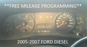 2006 Ford F250 F350 F450 Super Duty Diesel Speedometer Gauge Instrument Cluster