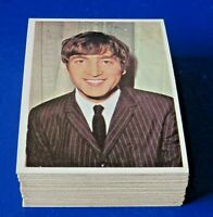 1964 TOPPS THE BEATLES COLOR CARDS NEAR COMPLETE SET ~ 53/64 CARDS ~ NM