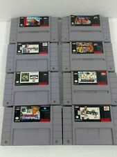 Lot Of 8 SNES Games Cartridges Only
