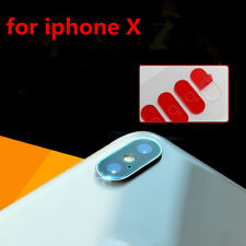 Transparent Tempered Glass Back Camera Lens Screen Protector Cover For iPhone X