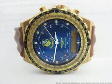 Finest Breitling Navitimer Blue Angels 80972 Dig Analog Chronograph Ever w/ Box