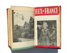 Feux de France - Album relié 1946 -Du numéro 65 au n°75 de novembre - Scoutisme