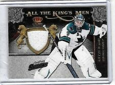 ANTTI NIEMI 2011 PANINI ALL THE KINGS MEN 4 COLOR GAME USED PATCH ~ SHARKS