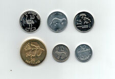 Africa Coin Mix - 6 Coins from 6 Countries - All Unc