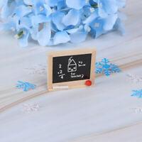 Mini Chalkboard Model Dollhouse Miniatures 1:12  DIY Kid's Room Accessories F zc