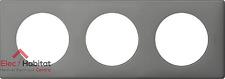Plaque triple gris perle Céliane Legrand 66603 Nouveauté 2017