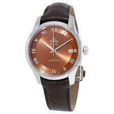 Omega De Ville Hour Vision Bronze-Colored Dial Automatic Mens Watch