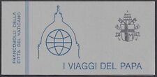 Vatican, 1985, Pope Paul John II, The Pope's travels, stamps booklet