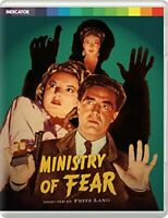 Ministry of Fear - Limited Edition Blu Ray [Blu-ray] [DVD][Region 2]