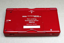 Nintendo DS Lite Official NonWorking Prototype Prerelease GameShop Display Dummy