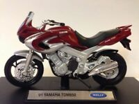 Motorbikes, Yamaha TDM850, Red/Silver, 2001,  New & Sealed 1/18