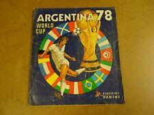 PANINI ALBUM COMPLETE / WORLD CUP 1978 ARGENTINA 78