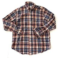 Brooks Brothers 346 Premium Button Down Plaid Shirt Mens Size Medium M