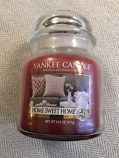 NEW! Yankee Candle HOME SWEET HOME Housewarmer Jar Candle 14.5 oz.