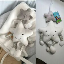 Musical Plush Hanging Cot Pram Capsule Smiling Star Toy