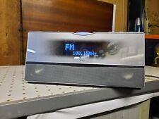 Yamaha TSX-100, Audio CD/Radio/USB , Silberoptik, 20W, 100/240V