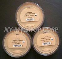 Bare Minerals Escentuals SPF 15 Foundation MEDIUM BEIGE - N20 8g XL - PACK OF 3
