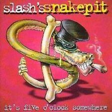 "SLASH'S SNAKEPIT ""IT'S FIVE O'CLOCK SOMEWHERE"" CD NEW+"