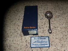 Pedro Duran Baby Rattle Sterling Silver with box and card