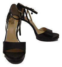 Michael Kors Belle Dress Sandals, Black, 9.5M