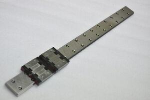 Bosch Lexroth Linear Bearing LM GUIDE R04435 570mm 1Rail 2Blocks THK IKO Router
