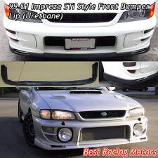 99-01 Subaru Impreza STi Front Bumper Lip (Urethane)