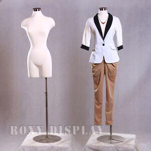 Size 2-4 Female Mannequin Manequin Manikin Dress Form #F2WLG+BS-04
