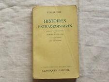 Histoires extraordinaires Edgar Poe Baudelaire 1962