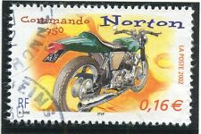 TIMBRE FRANCE OBLITERE N° 3511 MOTO / NORTON / Photo non contractuelle