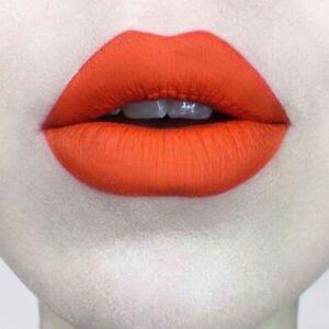 Kat Von D Kvd Studded Kiss Crème Lipstick Orange A Go Go New
