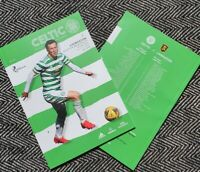 Celtic v Livingston Matchday Programme 19/9/2020!READY TO POST!