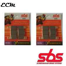 Suzuki GSXR750 Front Brake Pads SBS RACE SINTER 806RS K4 K5 K6 K7 K8 K9 L0 04-10