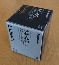 Panasonic Lens H-FS014045 LUMIX G VARIO 14-45mm/F3.5-5.6 ASPH./MEGA O.I.S. F/S
