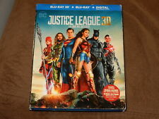 """JUSTICE LEAGUE DC"" 3D/2D 2-DISC BLU-RAY W/SLIPCOVER"