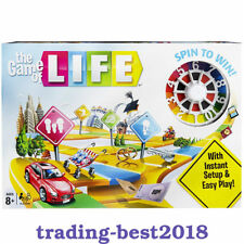 The Game of Life Board Game 2018 New Edition Family Party Fun Time