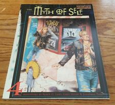 Myth of Self: Four Adventures for Over The Edge - rpg roleplaying game book RARE