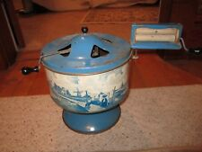 Vintage 1940's Wolverine Blue Delph Tin Toy Washing Machine!!!