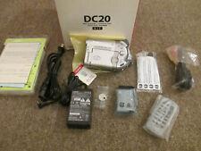 Canon DVD Camcorder NTSC DC20 Video Camera Transfer Recorder
