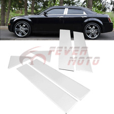 6X Chrome Stainless Steel Door Window Pillar Post For Chrysler 300/300C 05-10 FM